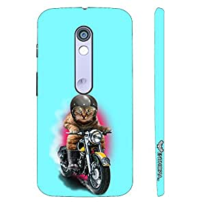 Motorola Moto X Play Cat Coolio designer mobile hard shell case by Enthopia