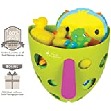 *CLEARANCE SALE* Premium Kids Bath Toy Storage Organizer | Quickly Tidy Toys | Easy Installation | No Mold & Mildew Build Up | Use As A Fun Toy Too | Ideal Gift | 100% Infinity Guarantee |