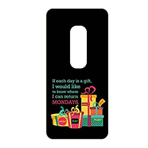 Vibhar printed case back cover for Moto X Play ReturnMonday