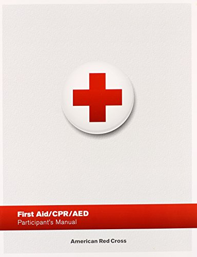 First Aid/ CPR/ AED Participant's Manual (American Red Cross Cpr Book compare prices)
