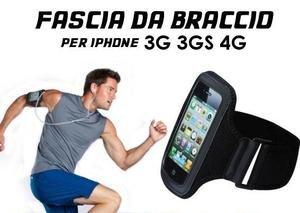 Fascia da braccio porta cellulare per corsa fitness - Porta ipod da braccio ...