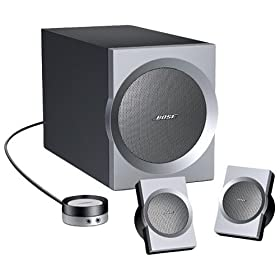 BOSE(R) Companion 3 Multimedia Speaker System - Graphite / Silver
