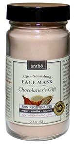 Organic Facial Mask - Nourishing, Skin Smoothing - Raw Chocolate from Antho Organic
