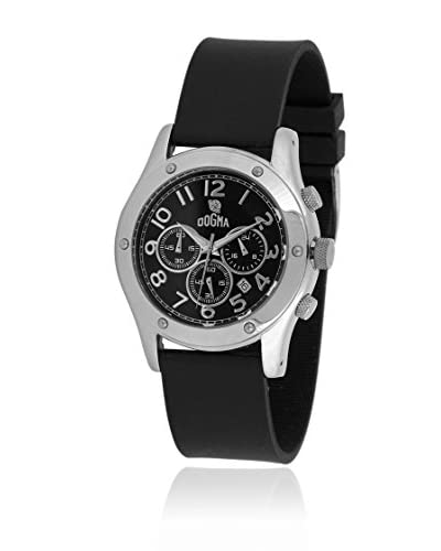 Dogma Reloj con movimiento cuarzo suizo DGCRONO-331N Negro 45  mm