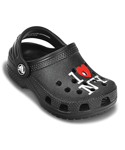 crocs Kids' Littles Clog (NY/Black)