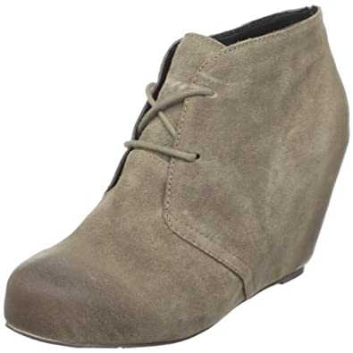 DV By Dolce Vita Women's Pascal Ankle Boot,Taupe Suede,6.5 M US