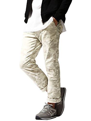 (エムシーアパッシュ) m.c.apache スキニーパンツ/メンズ/カモフラ/カラーパンツ/ストレッチ/迷彩/国産/トラウザーパンツ/ファッション D