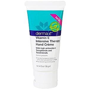 Derma E Vitamin E Intensive Therapy Hand Creme, Aqua, 2 Ounce