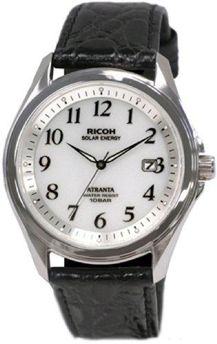 Ricoh Watch Atranta (Atlanta) Solar Charger Analog Display Standard 10 697005-05 White Arabic Index Waterproof Pressure
