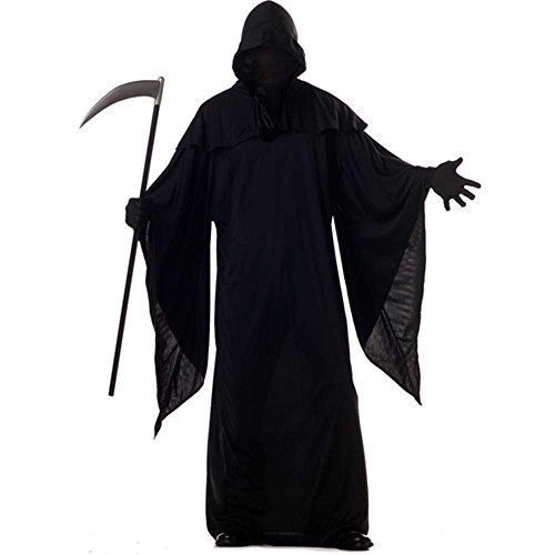 Grim Reaper Costume, Black