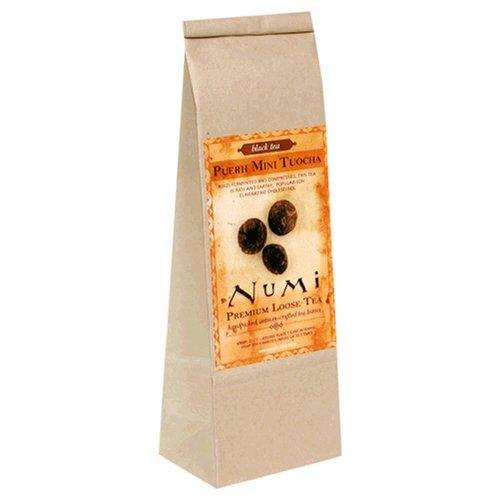 Buy Numi Tea Puerh Tuocha, Flowering Green Tea, Loose Leaf, 8-Ounce Bags (Pack of 2) (Numi, Health & Personal Care, Products, Food & Snacks, Beverages, Tea, Green Teas, Loose Tea)