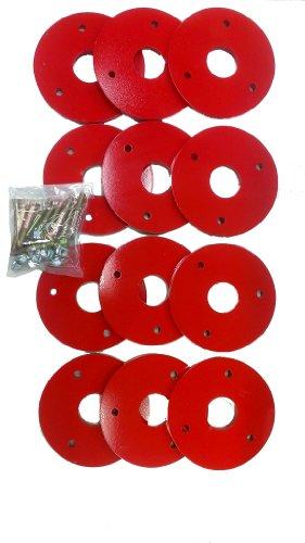 オーレック HGW80・SGW801用アタッチメント ウエイト(12kg)セット 0925-80200
