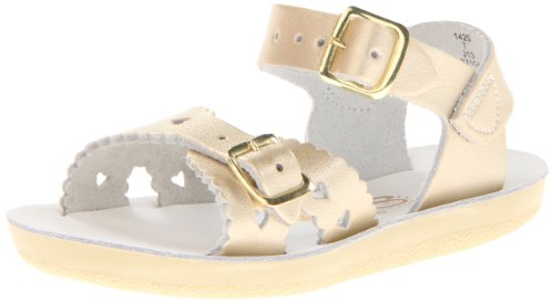 Salt-Water Style 1400 Sun-San Sweetheart Sandal,Gold,1 M US Little Kid (Salt Waters Kids compare prices)