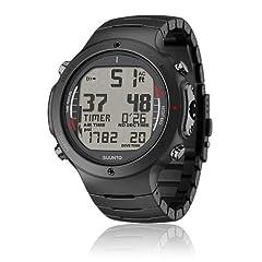 Buy Suunto Mens D6i ALL BLACK STEEL W  USB Athletic Watches by Suunto