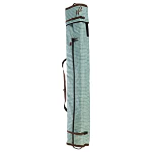 Buy K2 Ladies Deluxe Double Adjustable Ski Bag (Green Plaid) by K2