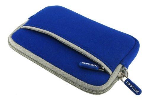 rooCASE Neoprene Sleeve (Dark Blue) Carrying Case for Western Digital My Passport Essential 500GB Portable Hard Drive WDBAAA5000AD4 Boombox
