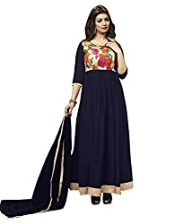 OM SAI FASHION WOMAN GEORGETTE SALWAR SUIT WITH DUPPTA (RJ MULTI )