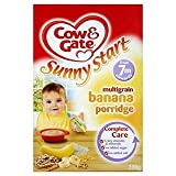 Cow & Gate Sunny Start 7 Mths+ Multigrain Banana Porridge 200G