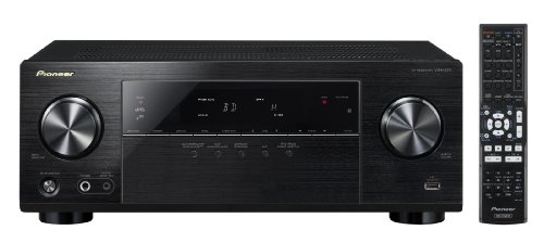 Pioneer Channel AV Receiver, VSX-523 (Black)