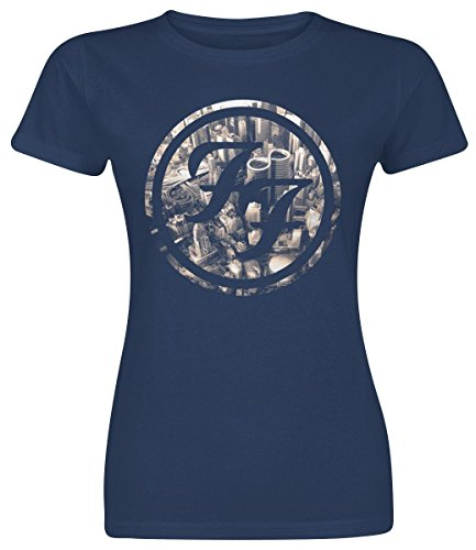 Foo Fighters Sonic Highways Maglia donna blu M