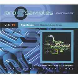 EastWest ProSamples Volume 19 Pop Brass CD-ROM