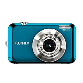 The Electronics World | Fujifilm FinePix JV100 12 MP Digital Camera with 3x Optical Zoom and 2.7inch LCD (Blue)