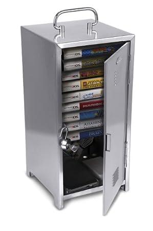 CTA Digital Game Case Locker with Game Holder for 3DS/DS/DSi/DSi XL