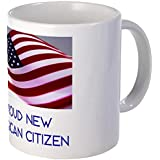 CafePress Mug - New American Citizen Mug - S White