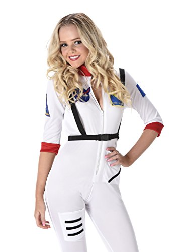 [Women's Astronaut Costume - Halloween (S-Small)] (Poison Ivy Plus Size Costumes)