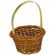 PacknWood 209BBCHIANG Chiang Small Woven Bamboo Basket, 3.9-Inch Diameter (3 Packs of 10)