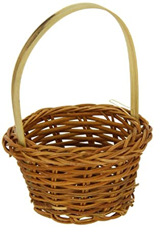 PacknWood Chiang Small Woven Bamboo Basket, 3.9-Inch Diameter (3 Packs of 10)