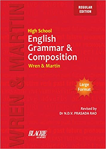 High School English Grammar & Composition by Wren & Martin Free PDF Download, Read Ebook Online