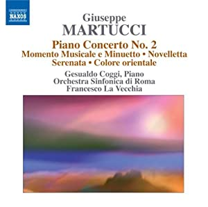 Martucci Orchestral Music Vol4 from Naxos