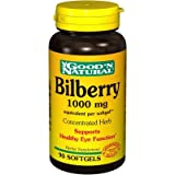 Bilberry 1000 mg Good N Natural 90 Softgel