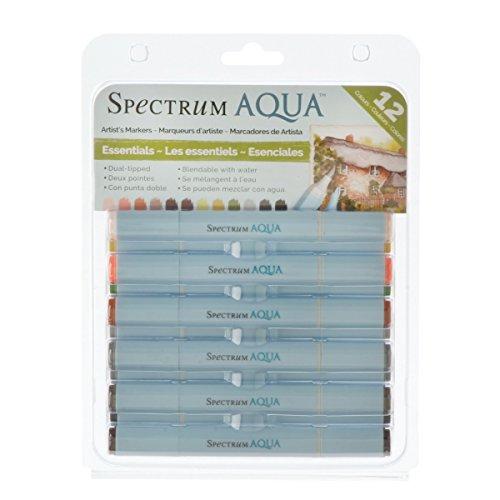 spectrum-noir-aqua-markers-12-pkg-essentials