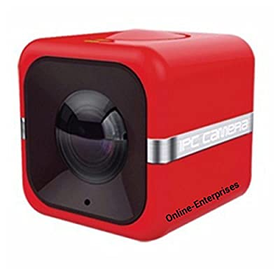 This one really works! Video demo and perfect instructions in english. Mini Cube IP Camera with IR lights for remote viewing via web on your cell phone. by Online-Enterprises