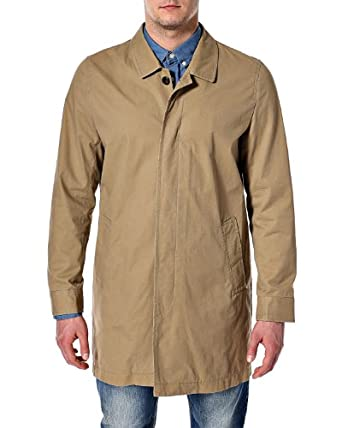 Selected Homme Men's Tribe Trench I Long Sleeve Coat, Beige (Sand), Large