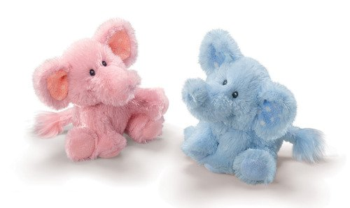 Elliefumps the Elephant Blue 6 Inches