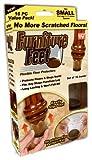 ONTEL PRODUCTS FFS-MC12/4 Furniture Feet, Small