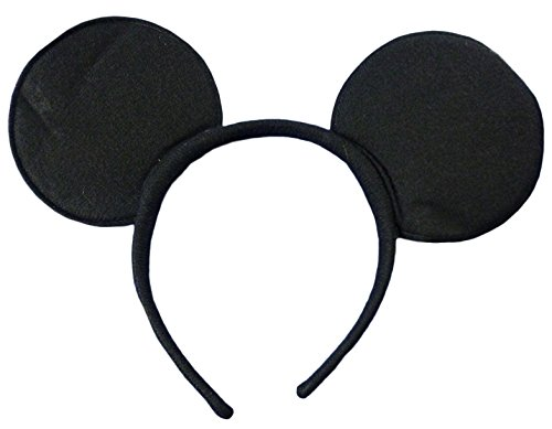 Henbrandt Black Mouse Ears Soft Headband