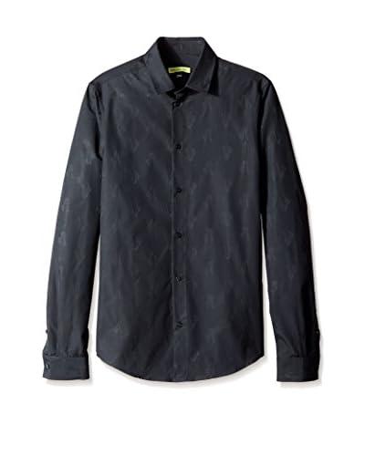 Versace Jeans Men's Logo Jacquard Shirt