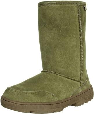 BEARPAW Women's Meadow Short 604W Boot,Birch,8 M US