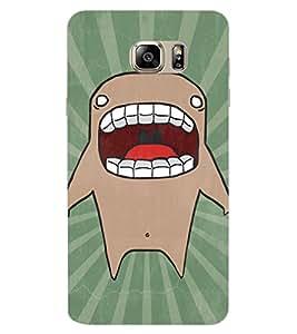 ColourCraft Cartoon Shark Design Back Case Cover for SAMSUNG GALAXY NOTE 7