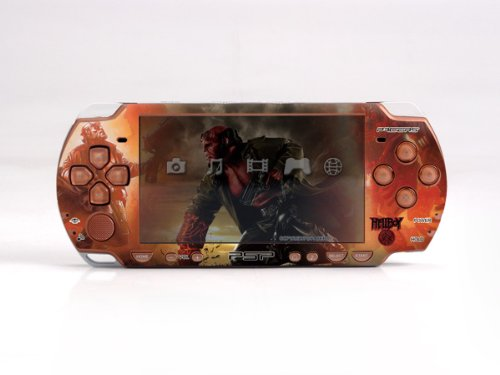 Pacers Hellboy Psp Slim Dual Colored Skin Sticker Psp 2000
