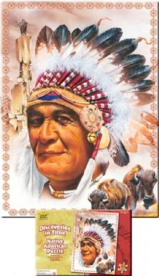 Wild Republic Puzzle Native American 500 Pieces