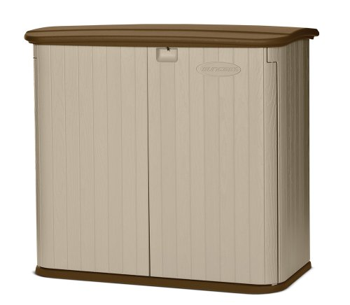 Awardpedia suncast horizontal storage shed for Horizontal storage shed