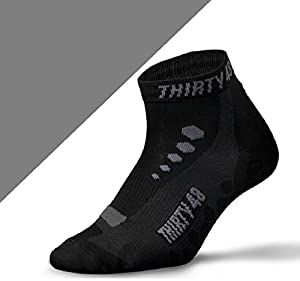 Low Cut Cycling Socks, Thirty48, Unisex; Running,Spin Class,Hiking,Gym Training by Thirty48