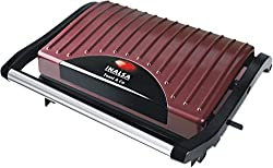 Inalsa Toast & Co 700-Watt 4-Slice Mini Grill Toaster (Brown)