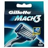 Gillette Mach3 Refill Blades - 8 Pack