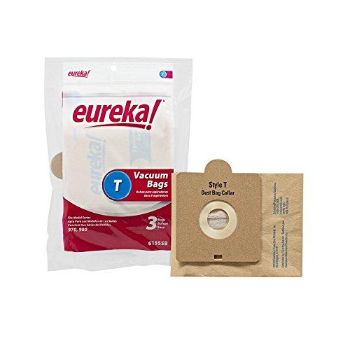 Genuine Eureka Style T Vacuum Bag 61555B - 3 bags (Eureka Vacuum Bags Rally 2 compare prices)